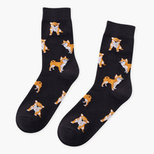 Load image into Gallery viewer, Corgi Dog Pattern Casual Sock