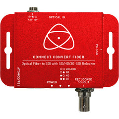 Connect Convert Fiber | Fiber to SDI