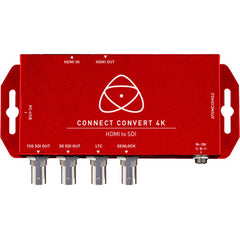 Connect Convert 4K | HDMI to SDI with Scale/Overlay