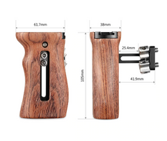 SmallRig Wooden Universal Side Handle