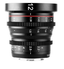 12mm T2.2 MF Cine Lens (M43)
