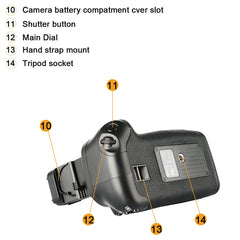 Battery Grip Canon 60D