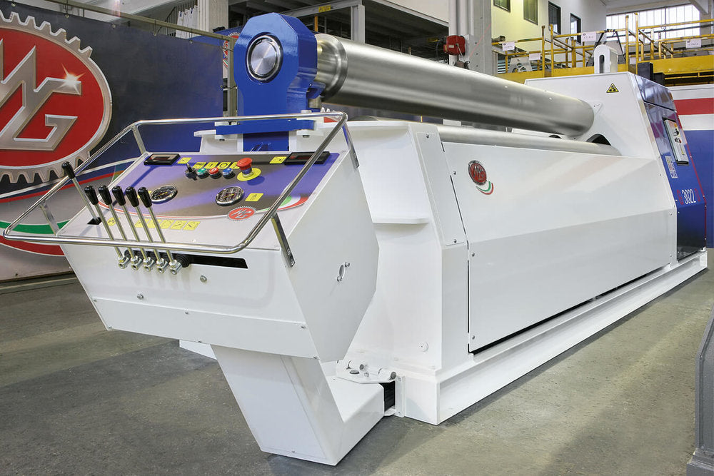 "G2090Y - 6 FOOT X 3.50"" 3 ROLL PLATE BENDER"