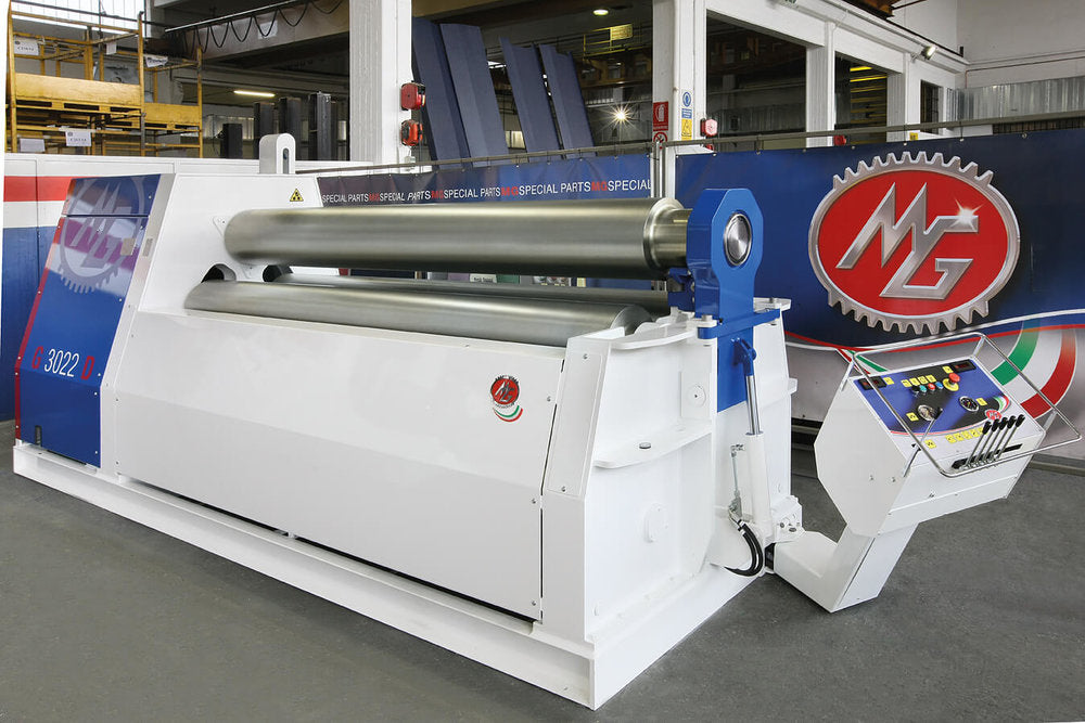 "G2510B - 8 FOOT X 0.390"" 3 ROLL PLATE BENDER"