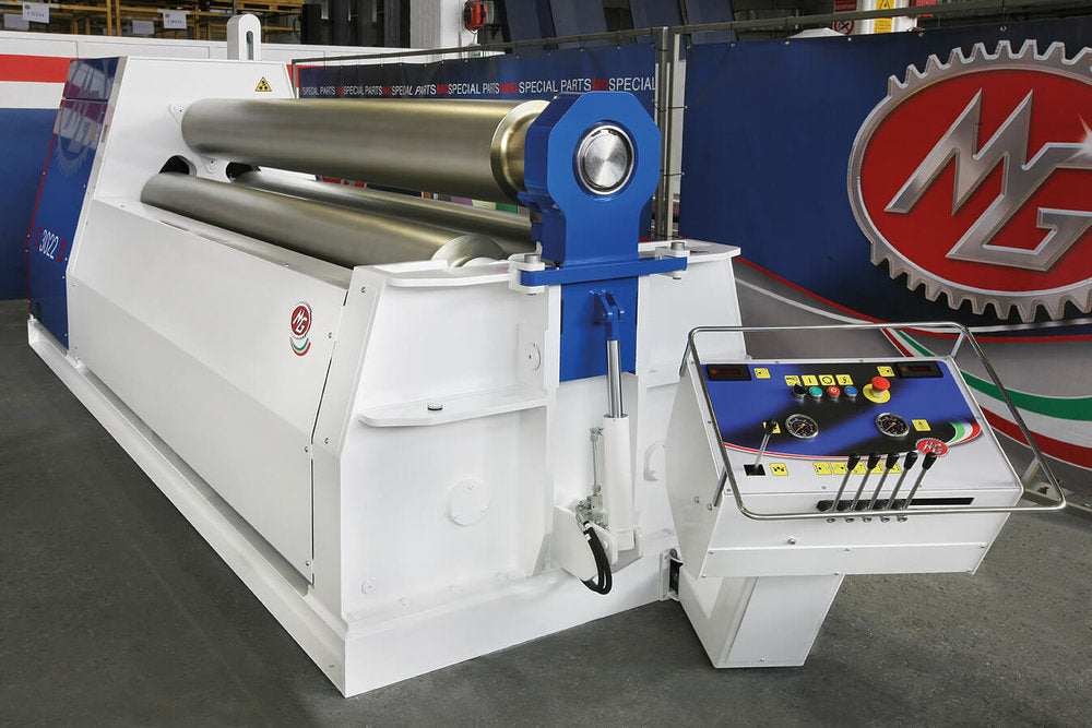 "G4008R - 13 FOOT X 0.315"" 3 ROLL PLATE BENDER"