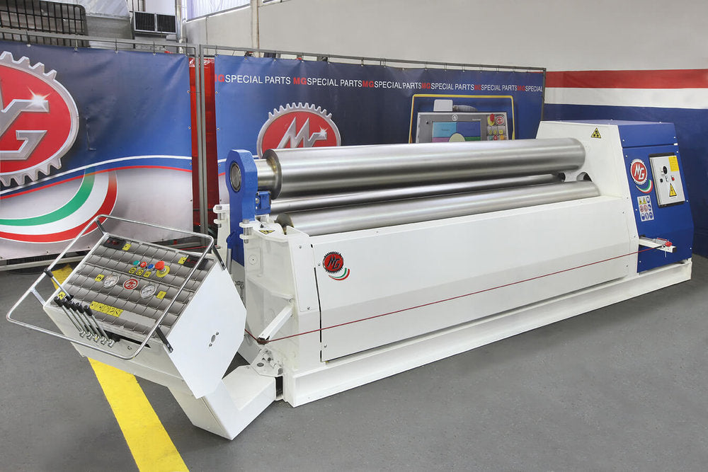 "G3016C - 10 FOOT X 0.630"" 3 ROLL PLATE BENDER"