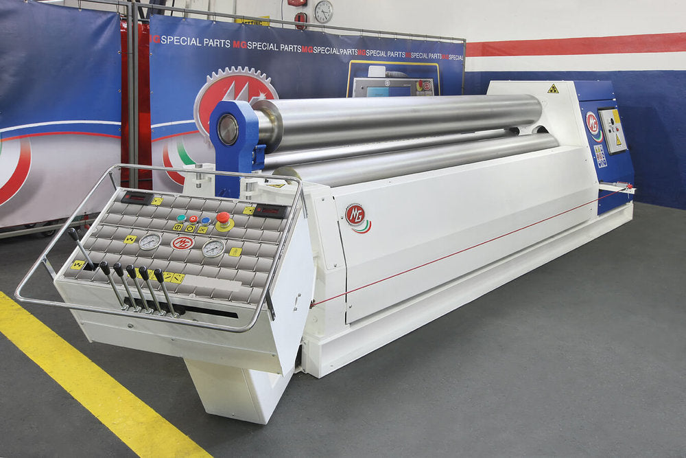 "G2050G - 6 FOOT X 2.0"" 3 ROLL PLATE BENDER"