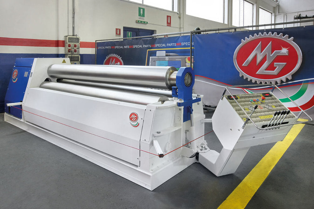 "G2070I - 6 FOOT X 2.750"" 3 ROLL PLATE BENDER"