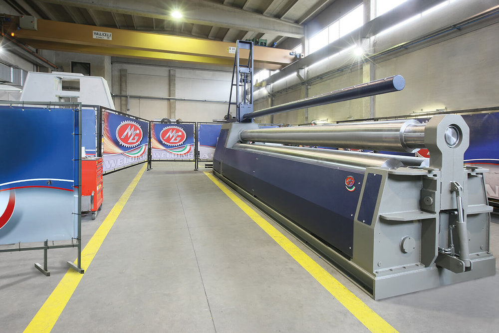 "G6010M - 20 FOOT X 0.390"" 3 ROLL PLATE BENDER"