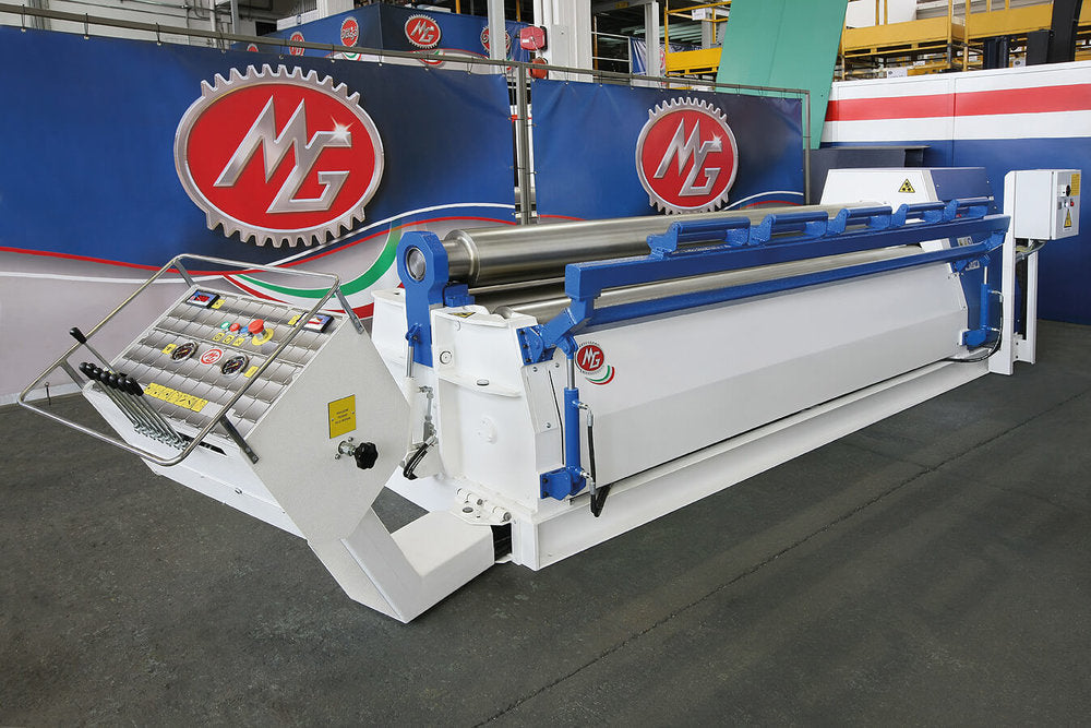 "M2506P - 8 FOOT X 0.230"" 4 ROLL PLATE BENDER"