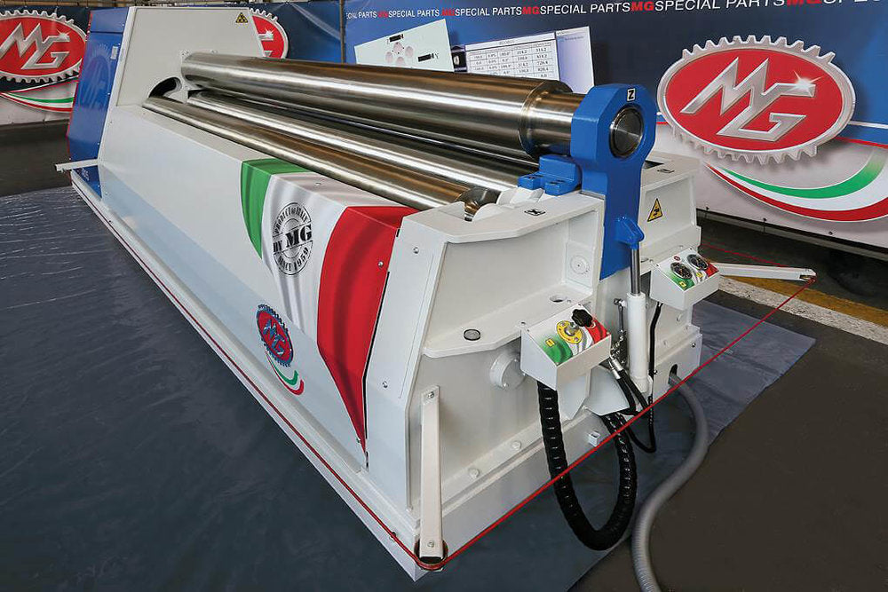 "M2565H - 8 FOOT X 2.50"" 4 ROLL PLATE BENDER"