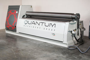 "M3015C: 10' x 3/8"" Thick - 4 Roll Plate Bender Equipped with the Quantum CNC EVO Control"