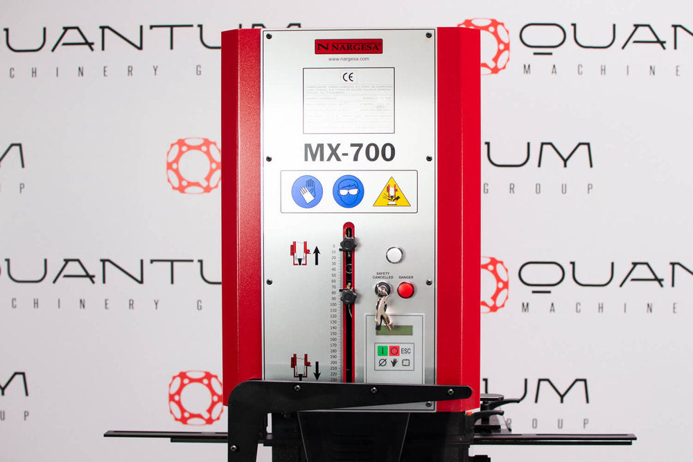 MX700 INDUSTRIAL HYDRAULIC IRONWORKER