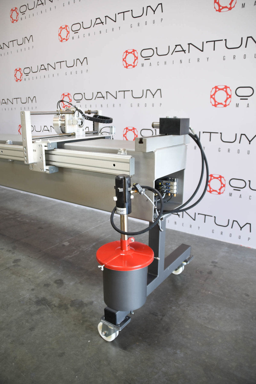 QMS-60 Mandrel Rotary Bender with Carriage on Wheels