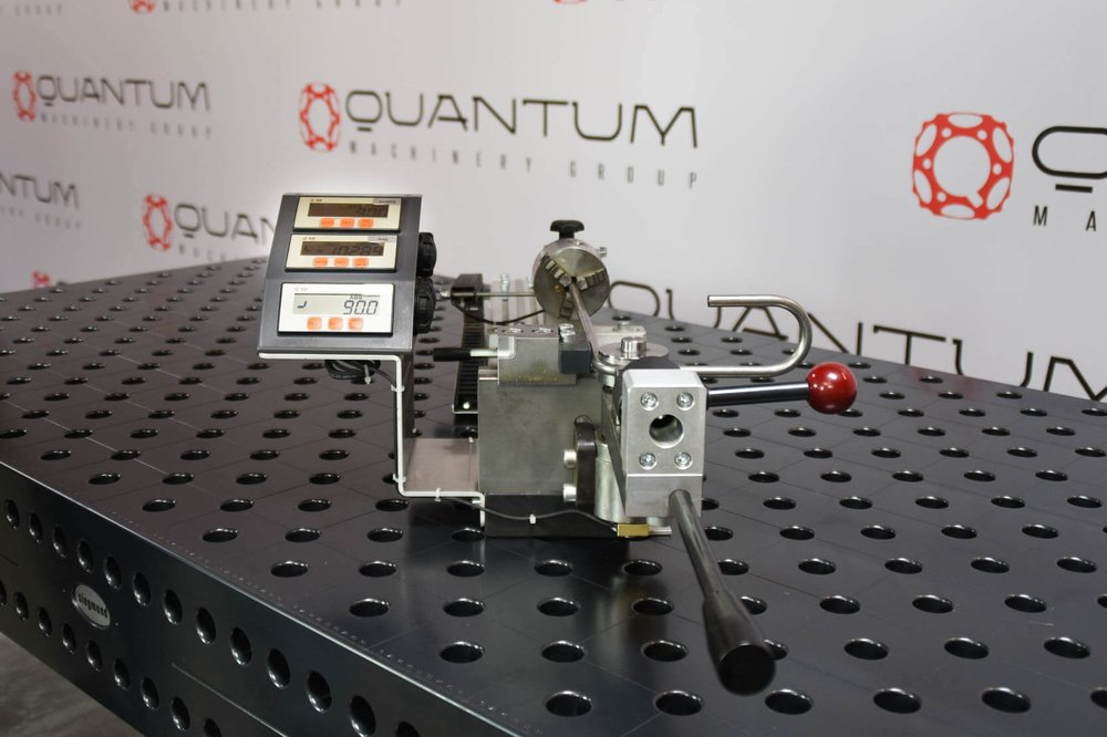 "QMS HRB-3D (72"" Table Length) Rotary Bender with Digital Readouts"