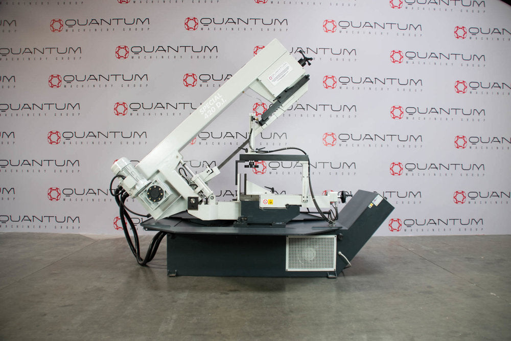 "S 420 DI: Semi-Automatic Band Saw with Variable Speed Inverter (15-5/8"" Round Tube Capacity)"