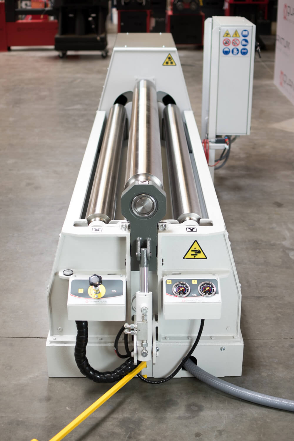 "M2006P - 6 FOOT X 0.230"" 4 ROLL PLATE BENDER"
