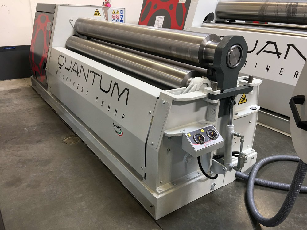 "G2560H - 8 FOOT X 2.30"" 3 ROLL PLATE BENDER"
