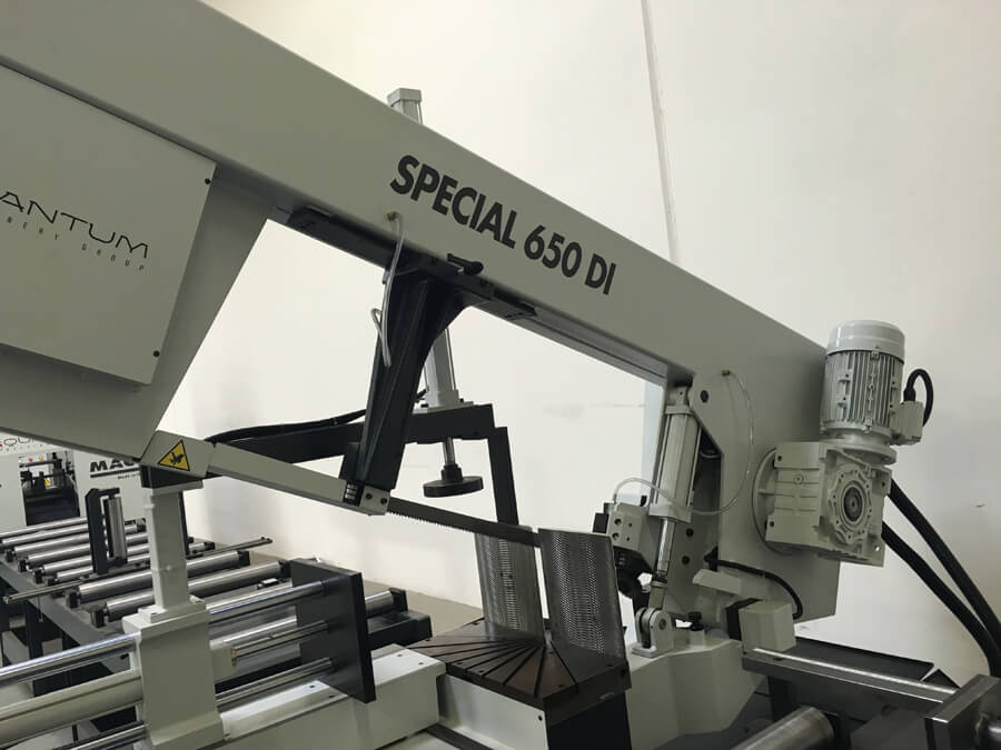 "S 650 DI: Semi-Automatic Band Saw with Variable Speed Inverter (18"" Round Tube Capacity)"