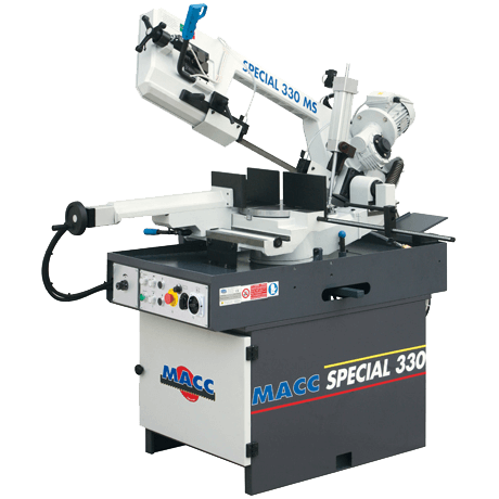 "S 330 M/S: Semi-Automatic Band Saw (9"" Round Tube Capacity)"