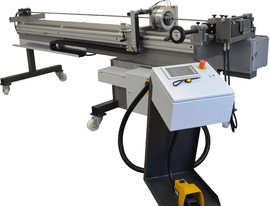 QMS-42 Mandrel Rotary Bender with Carriage on Wheels