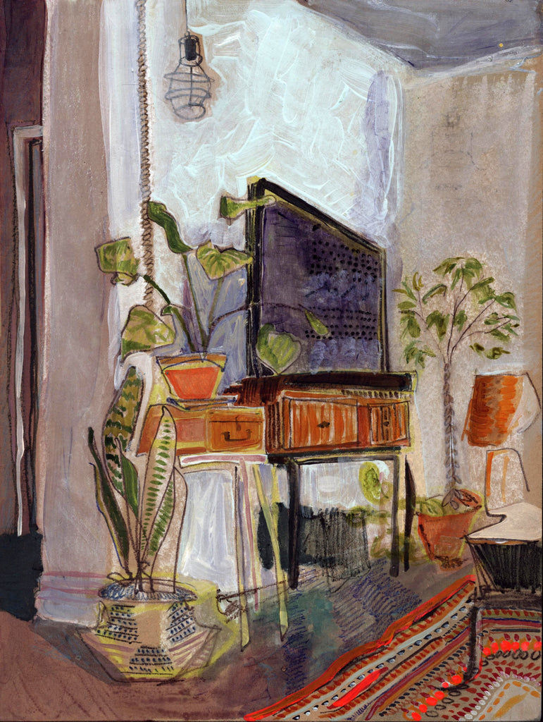 Erika Stearly, Angela's Seattle Apartment No. 101 - Original Painting