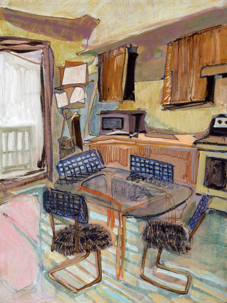 Erika Stearly, Angela's Seattle Apartment No. 102 - Original Painting