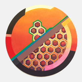Phyllis Gorsen, Of a Circular Nature - Honeycomb