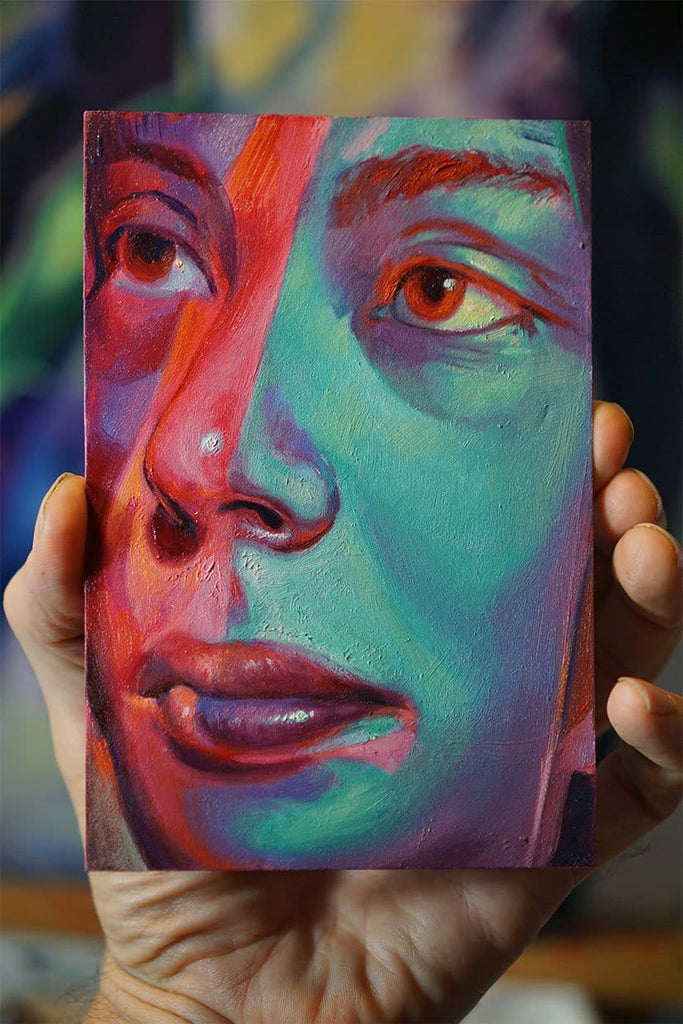 Scott Hutchison, Divided - Original Painting