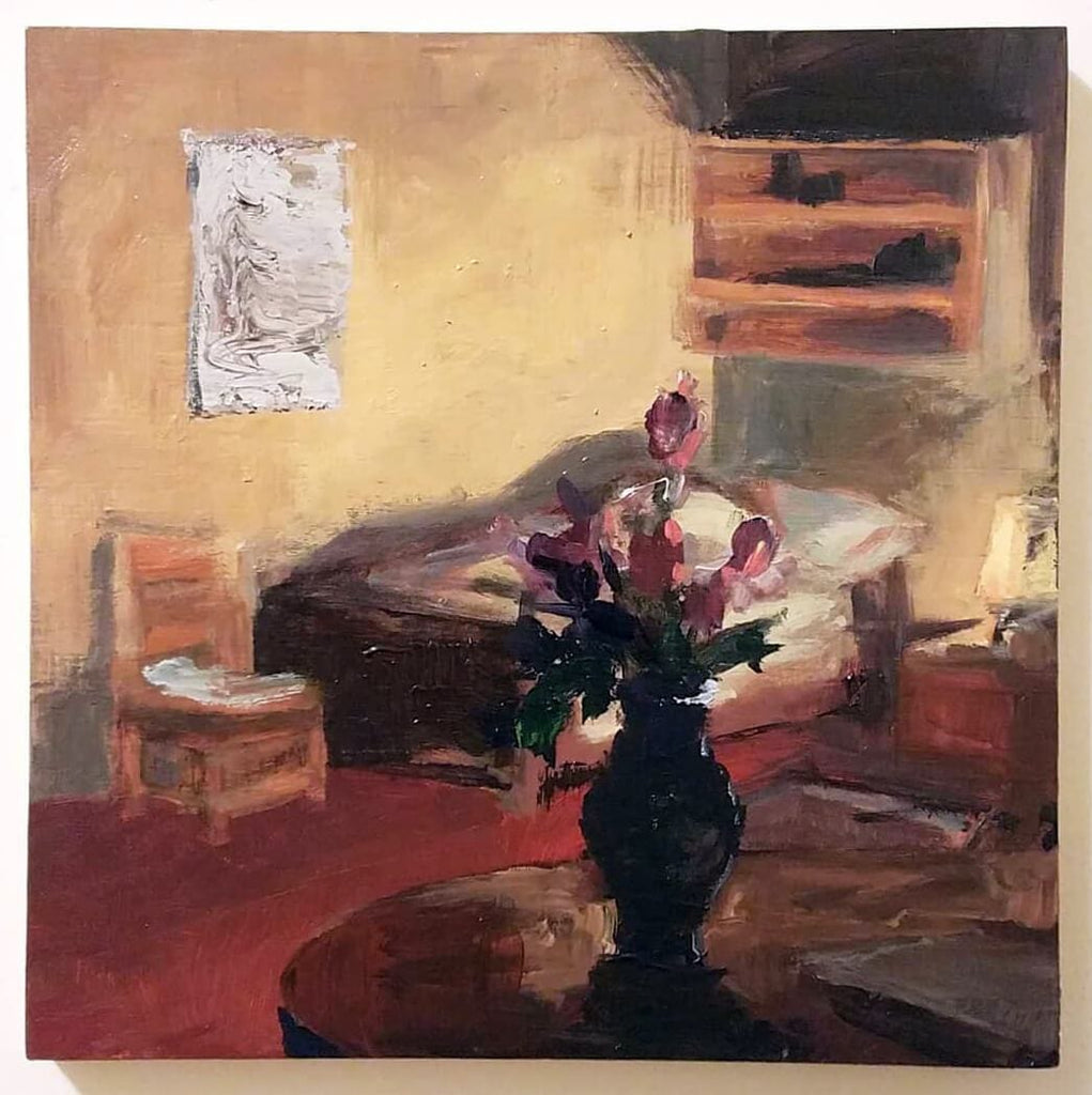Interior painting affordable art Anna Shukeylo