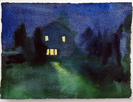Anna Shukeylo, Cherry Hill (Nocturne 6) - Original Painting