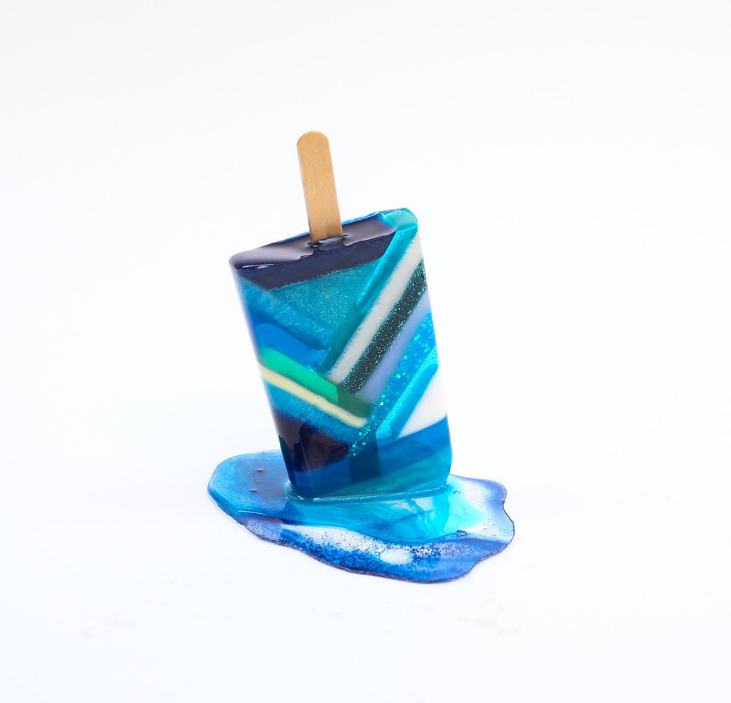 Betsy Enzensberger Art Popsicle Sculptures