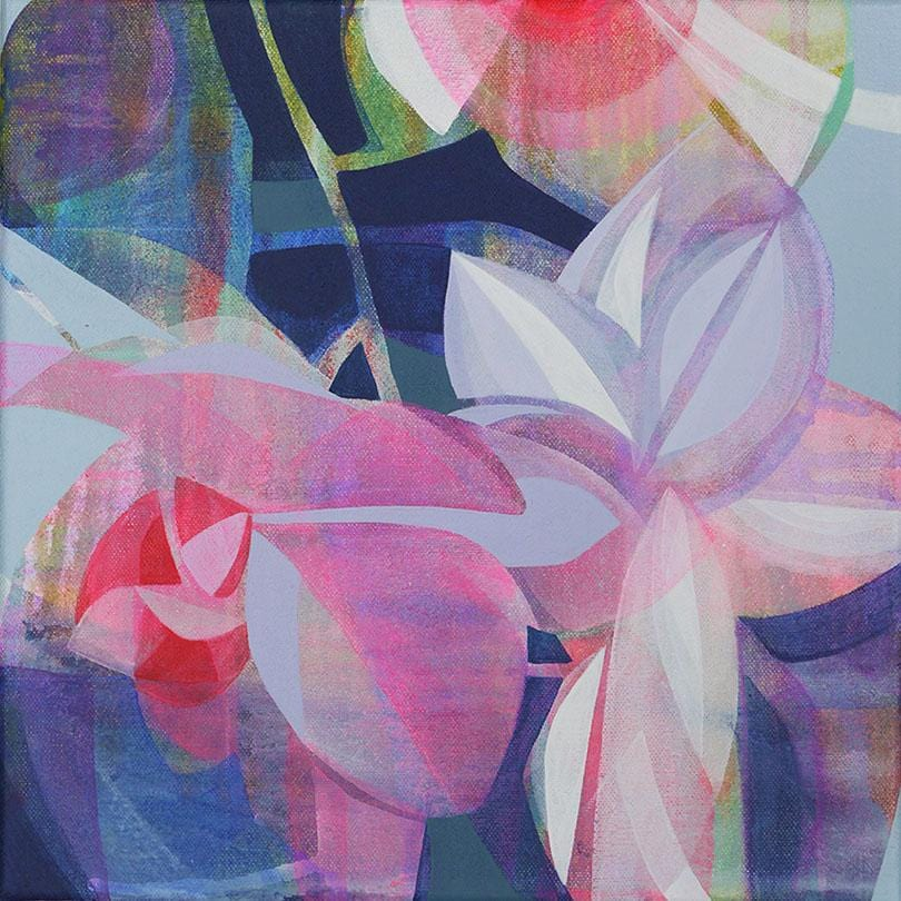 Abstract-floral-painting-affordable-art-Manty-Dey