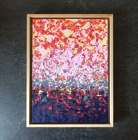 Allison Keilman, Fire in the Sky - Original Painting
