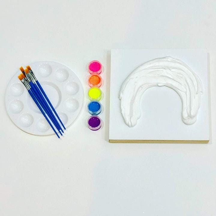 Megan Coonelly rainbow affordable art kit