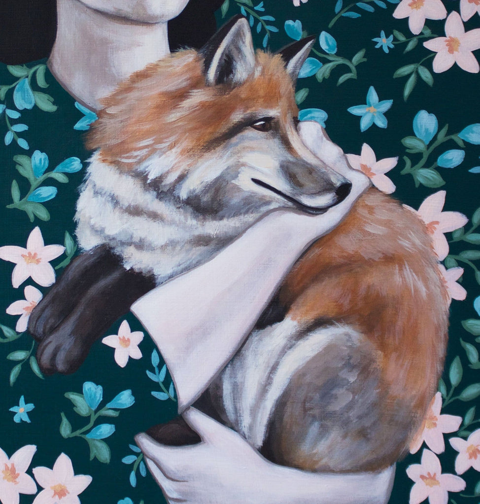 Shawna Gilmore, Polly And The Fox - Original Painting