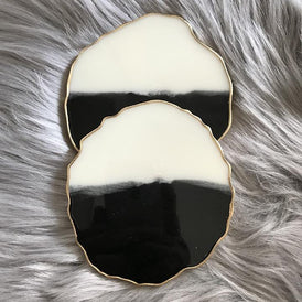 vedas-atelier-black-and-white-geode-resin-coasters