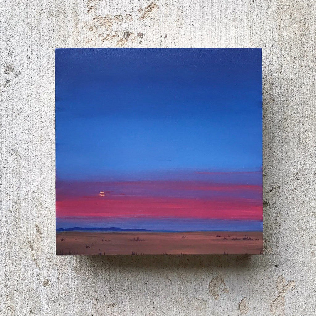 Kristin Moore, Marfa Moonrise - Original Painting