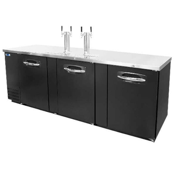 Norlake NLDD95 AdvantEDGE Commercial Direct Draw Beer Cooler,