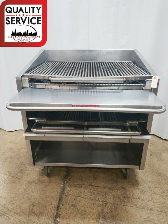 Magikitch'n FM636 Commercial Gas Charbroiler,
