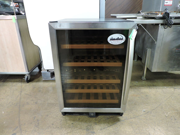 Wine Enthusiast N'finity Dual Temperature Zone Wine Cellar,