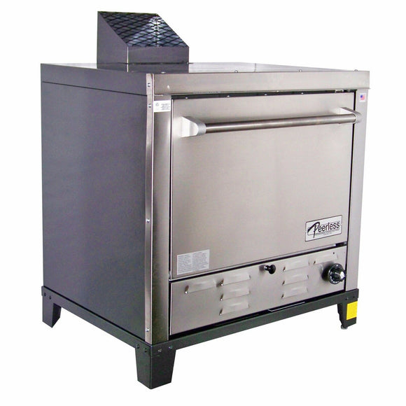 Peerless Ovens Counter Top Gas Pizza Oven w/ Four 24x19