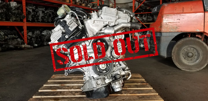 Toyota Camry 07-12 JDM 3.5L 2GR-FE V6 Dual VVT-i Engine Only with Oil Cooler - Toronto Auto Parts