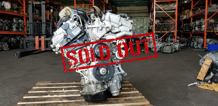 JDM Toyota Camry 2GRFE 3.5L Engine Only 2007-2012 Without Oil Cooler