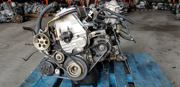 Honda Civic 1996-2000 1.6L D16Y Non-Vtec Engine with 5 speed Manual Transmission Complete - Toronto Auto Parts