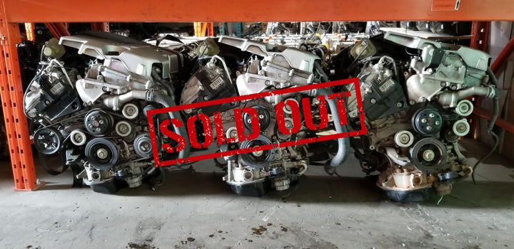 Toyota Avalon 07-12 JDM 3.5L 2GR-FE V6 Dual VVT-i Engine Only with Oil Cooler - Toronto Auto Parts
