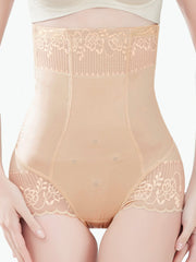 Elegant High Waist Lace Panty