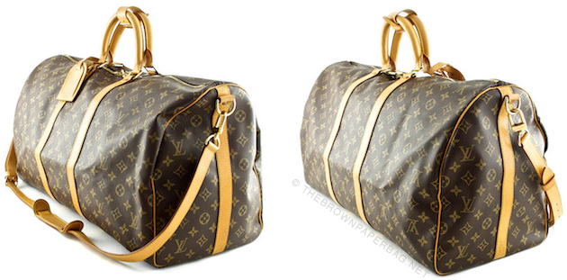Upside down LV's - Workmanship | A Guide To Authentic Louis Vuitton by THEBROWNPAPERBAG.NET