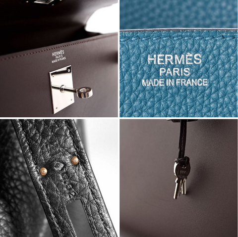 Hermes blind stamps