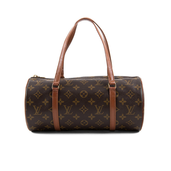 LOUIS VUITTON Monogram Canvas Papillon 30 Bag with Pouch